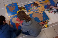 Montessori 6/12 ans géographie